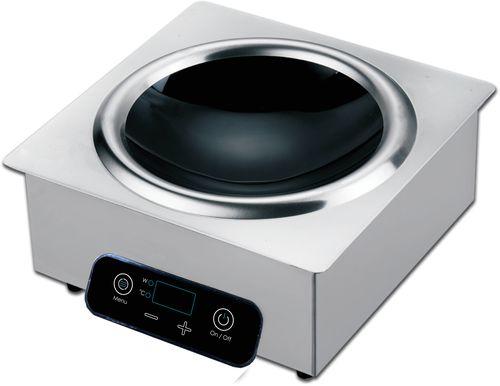 Плита индукционная Hurakan HKN-ICB35W WOK (встраиваемая)
