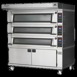 Многофункциональные электрические печи с увеличенной производительностью, доступные в разных моделях по 6-7 противней 60х40см на каждом уровне