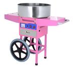 Аппарат для производства сахарной ваты на тележке Hurakan HKN-C2-T