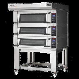 Многофункциональные электрические печи с увеличенной производительностью, доступные в разных моделях по 2 противня 60х40см на каждом уровне